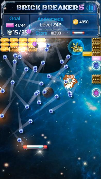 Brick Breaker : Space Outlaw screenshot 4