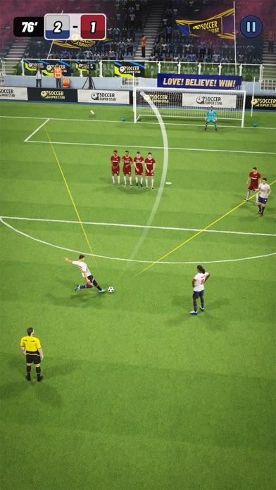 Soccer Super Star Screenshot on iOS