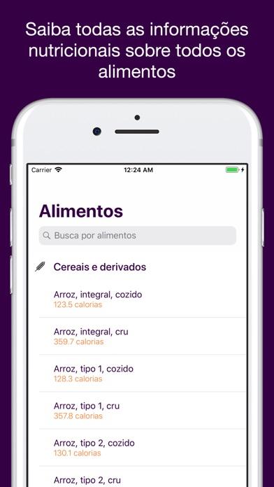 Screenshot for Tabela Taco de Alimentos in Viet Nam App Store