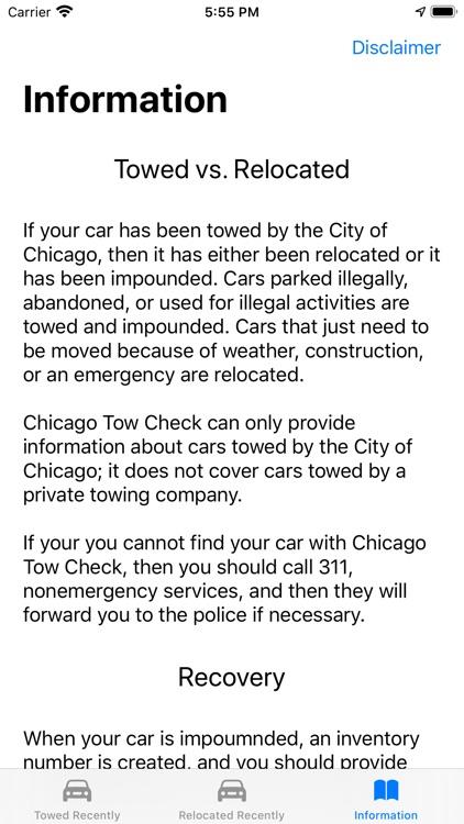 Chicago Tow Check screenshot-5