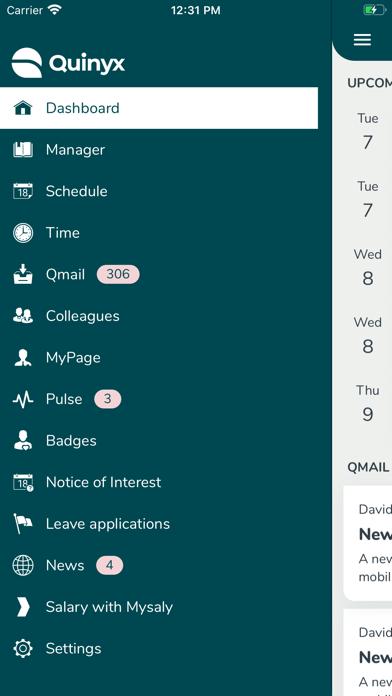 Screenshot #2 pour Quinyx Mobile