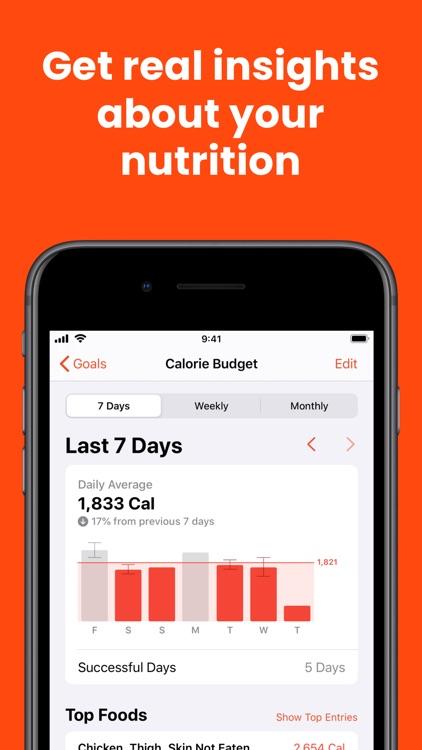FoodNoms - Food Tracker screenshot-5