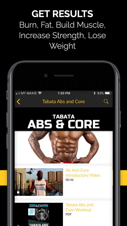 Over 40 Shred Fitness for Men screenshot-3
