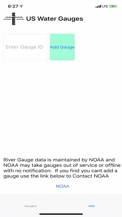 Screenshot for US Water Gauges in United States App Store
