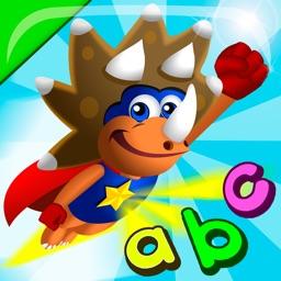 ABC Dinos: Read and write