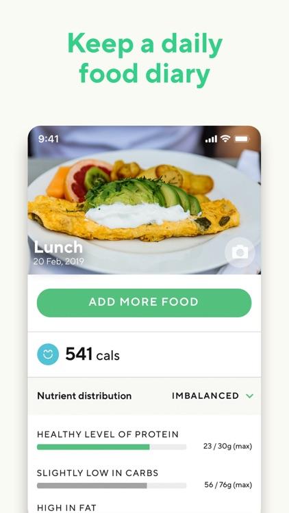 Lifesum: Calorie Counter screenshot-9
