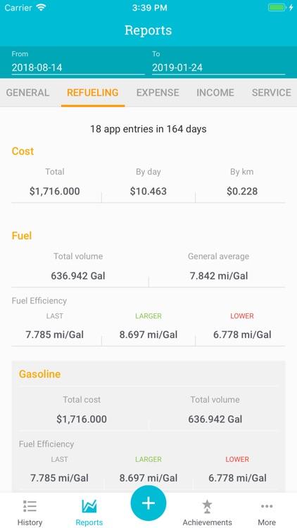 Drivvo – Car management screenshot-3