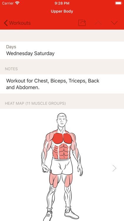 GymBook - Strength training screenshot-4