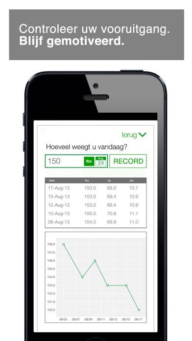 workout van 7 minuten iPhone app afbeelding 4