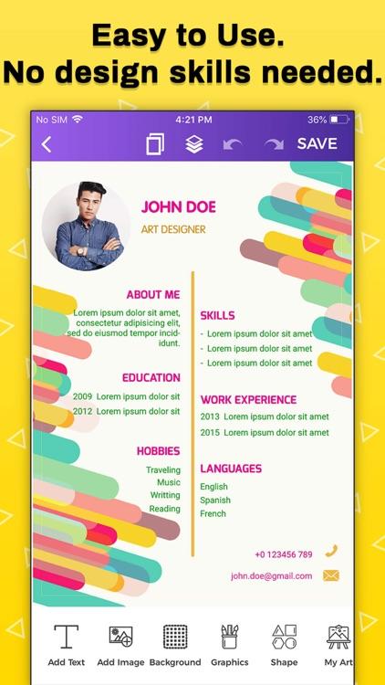 Resume Builder, CV Maker screenshot-9