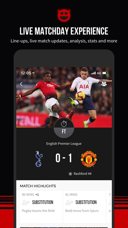Manchester United Official App screenshot-0