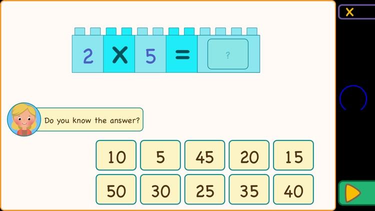 Multiplication Tables & Apples screenshot-4