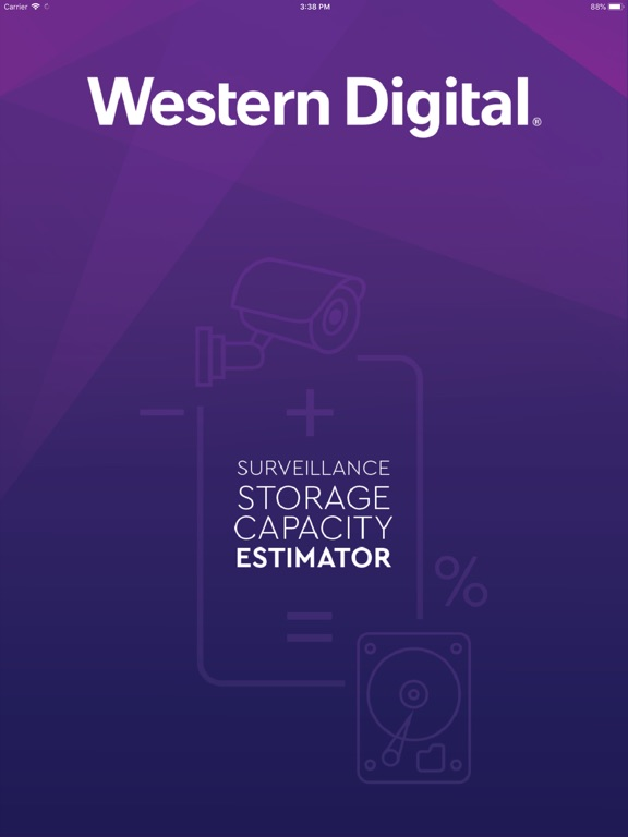 WD Purple Storage Calculator-ipad-0