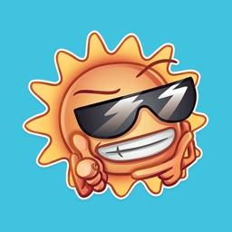 Cute Weather - Funny Stickers