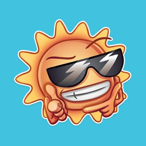 Cute Weather - Funny Stickers icon