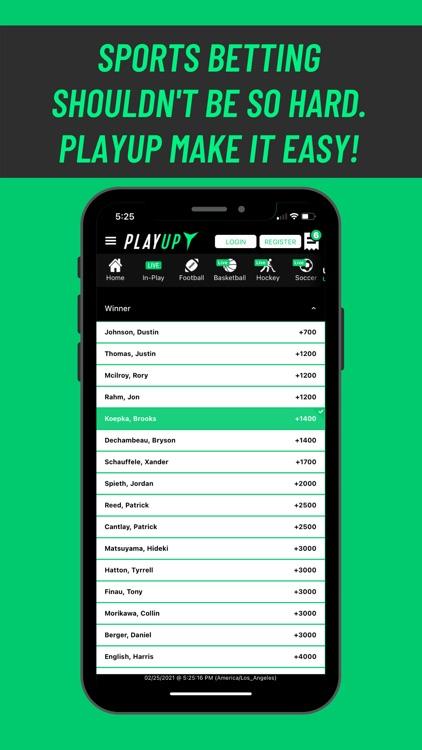 PlayUp Sportsbook screenshot-5