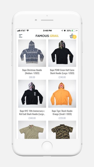 1c25229dc9f5e Famous Grail on the App Store