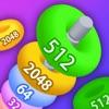NumHoop - Stack The Numbers 3D - iPadアプリ