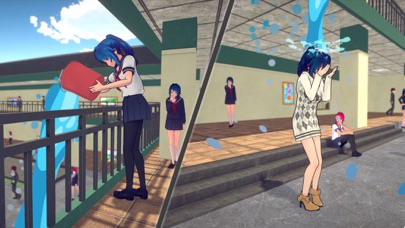 Anime High School Girl Life 3D for windows pc