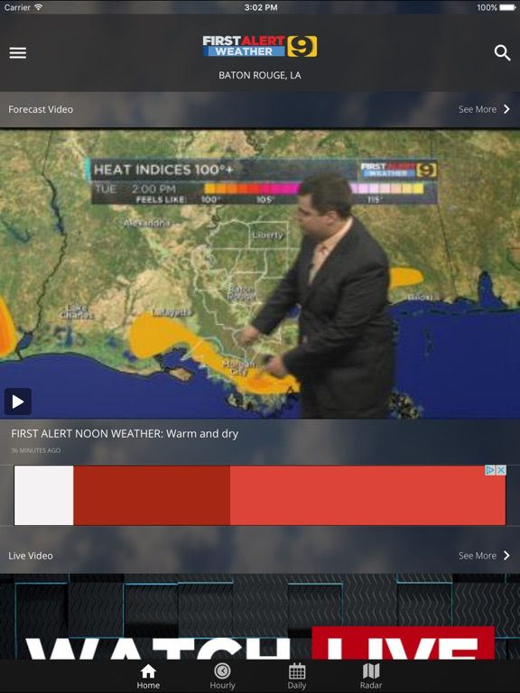 Wafb live weather radar | KATC Weather 8 Day Forecast  2019-04-15