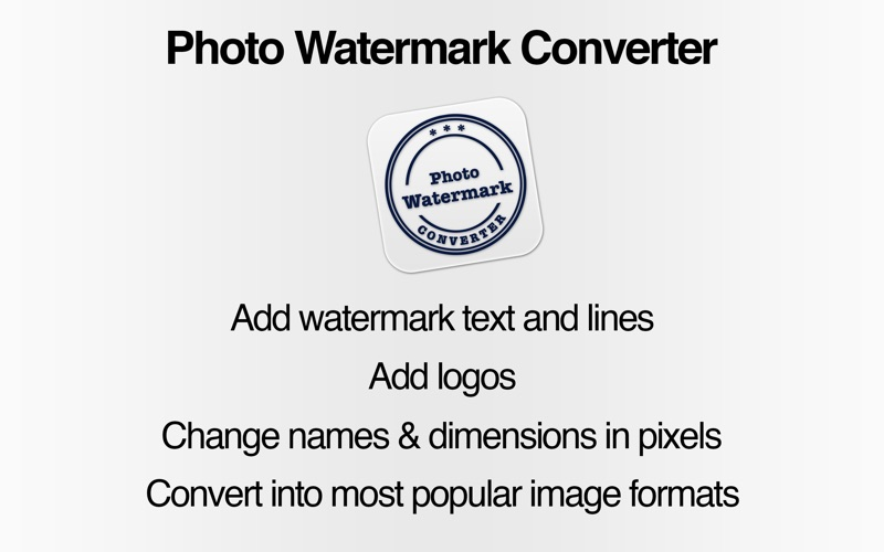 水印工具 Watermark FX: rename, resize & convert photos - add logo, text or line for Mac