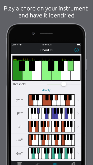 Tonality: Piano/Guitar Chords - 窓用