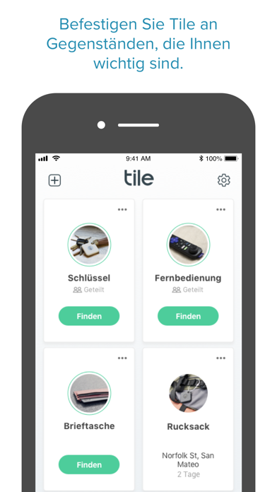 Tile - Find lost keys & phoneScreenshot von 3