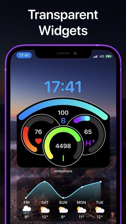 widgetopia Widgets + Weather screenshot-3