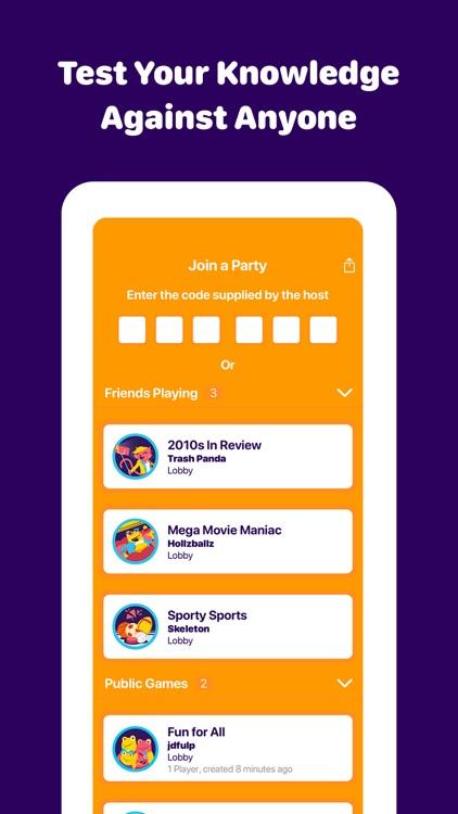 Sporcle Party: Social Trivia screenshot-3