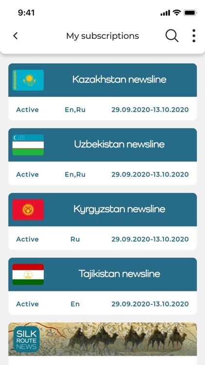 Silk Route News
