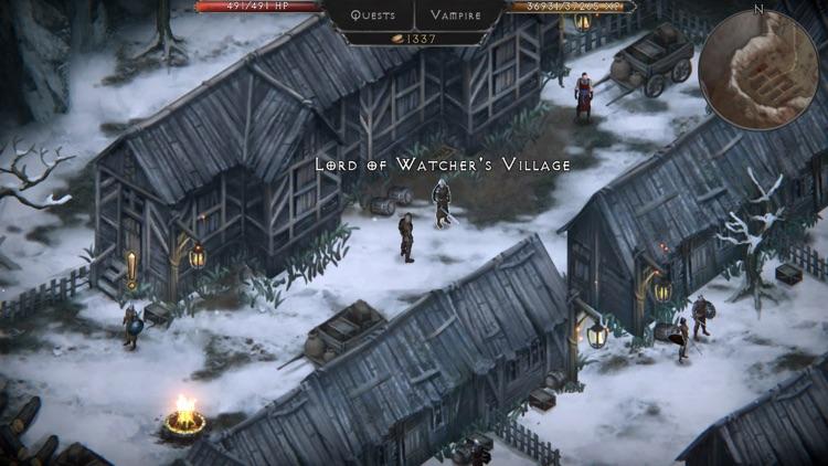 Vampire's Fall: Origins RPG screenshot-3