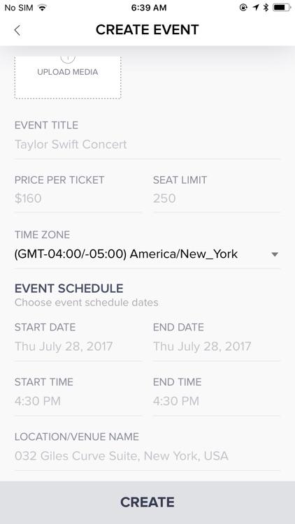 The Moves: Social Event App screenshot-5