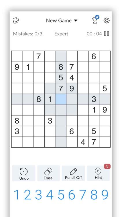 Sudoku - Brain Puzzle Games screenshot-3
