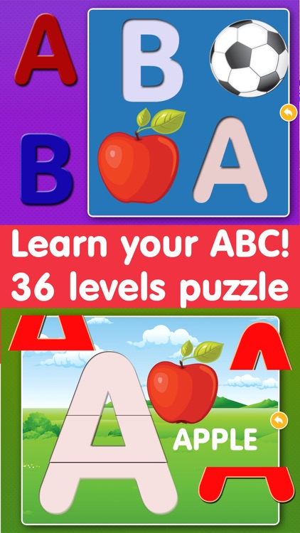 Alphabet Puzzles learning kids