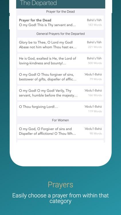 Bahá'í Prayers screenshot-3