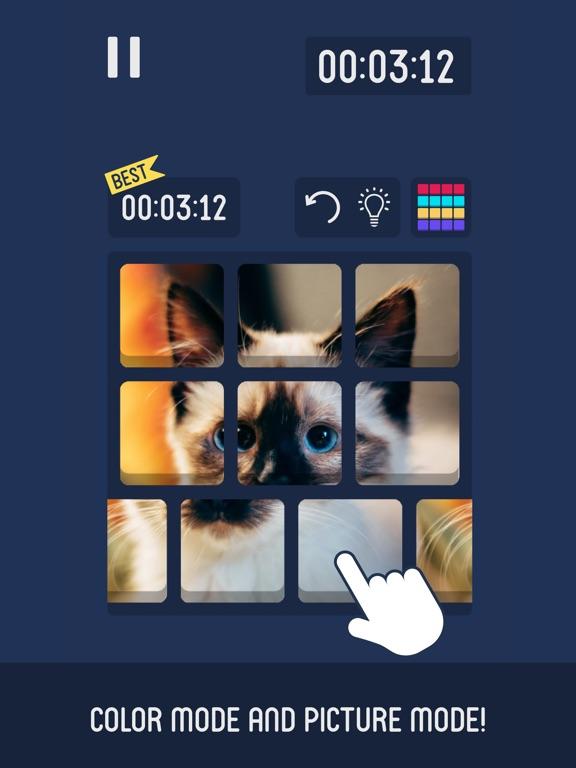 Flat Cube : 2D Cube Puzzle screenshot 8