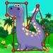 Dinosaur Dots Connect for kids Hack Online Generator
