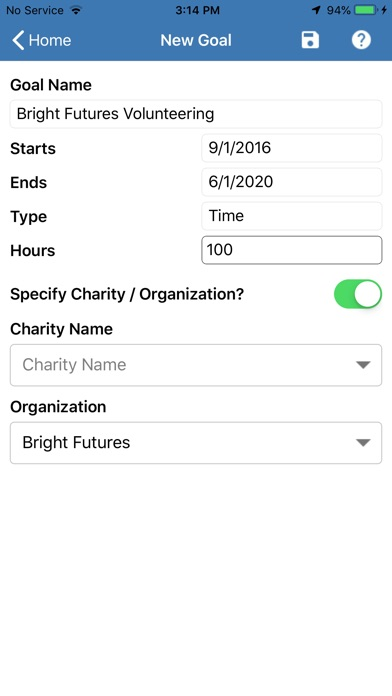 My Giving Back app image