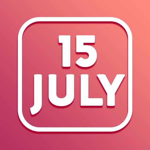 Calendar Widget color widgets