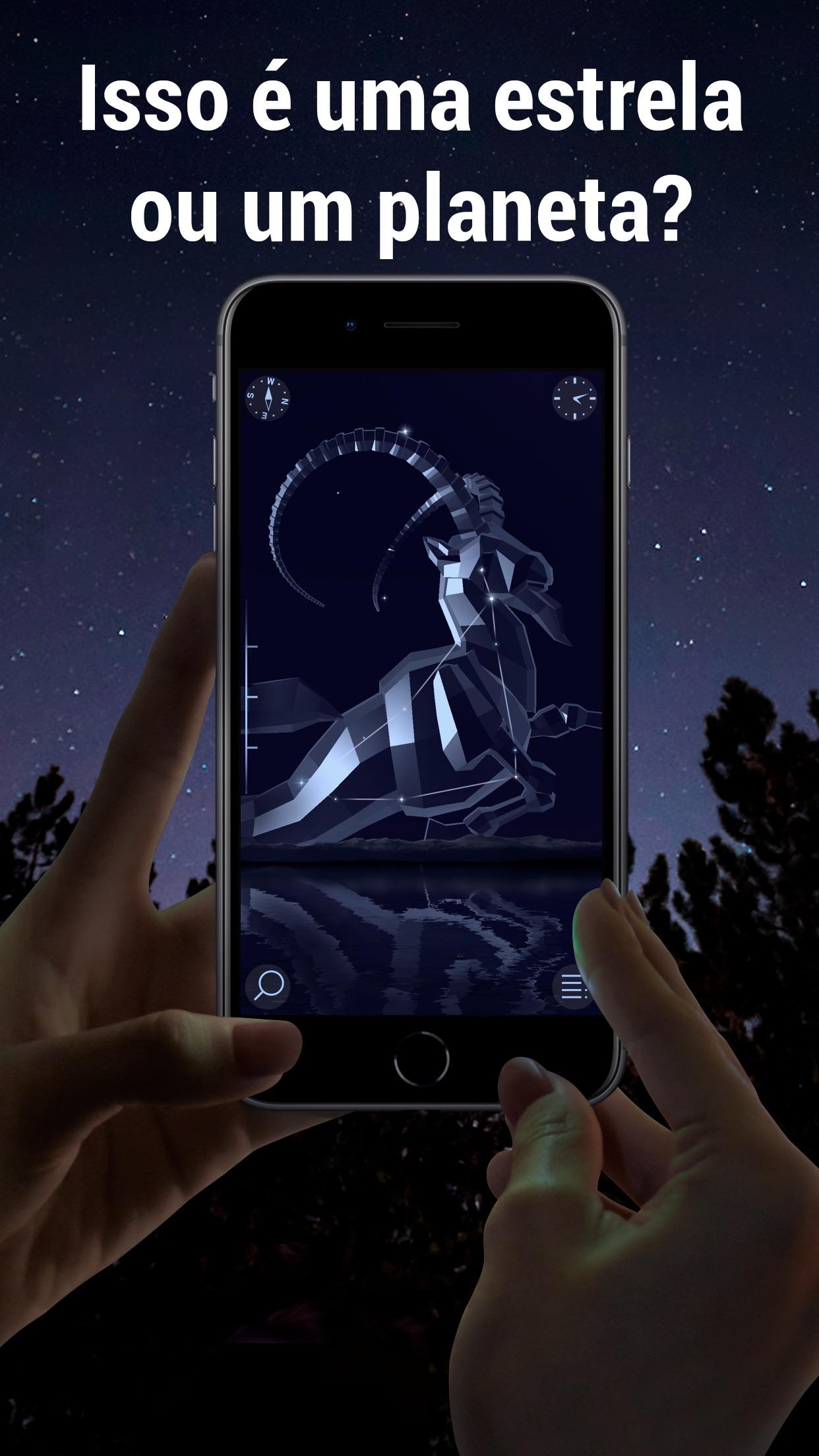 Screenshot do app Star Walk 2 - Céu Estrelado