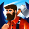 App Icon for Idle Lumberjack 3D App in Singapore IOS App Store