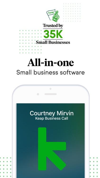 Keap: CRM & Second Phone Line screenshot-0