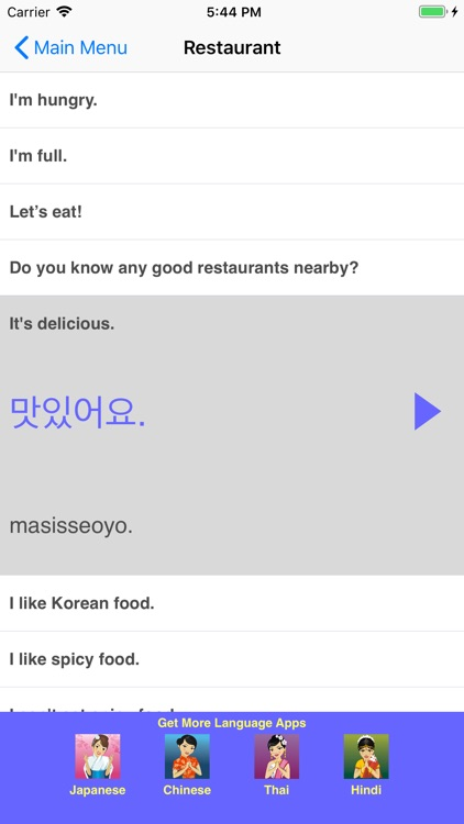 Speak Korean Travel Phrasebook screenshot-3