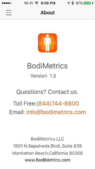 点击获取BodiMetrics