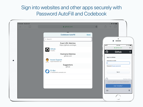 Codebook Password Manager screenshot 12