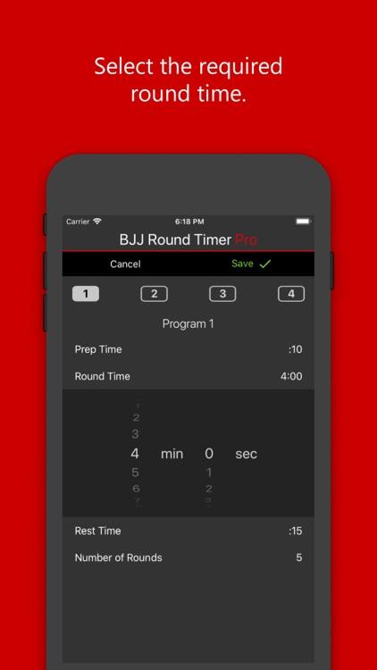 BJJ Round Timer Pro screenshot-3
