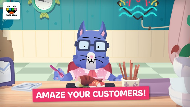Toca Kitchen Sushi on the App Store on