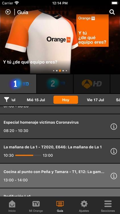 Orange TV screenshot-4