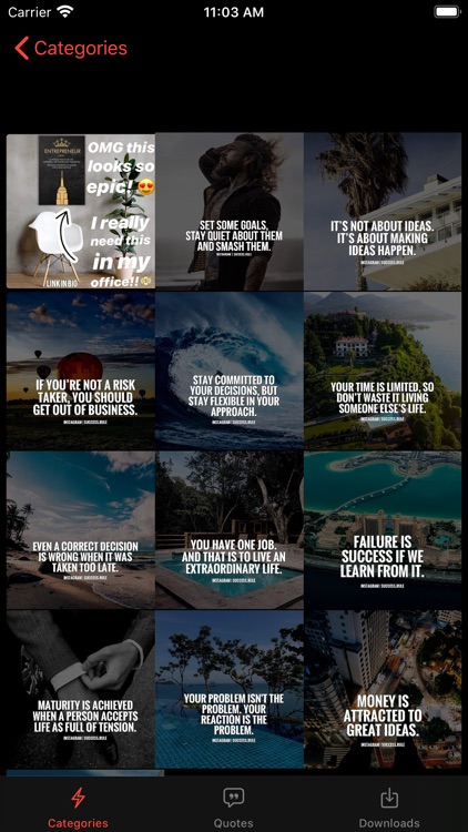 Motivation : Daily quotes screenshot-5