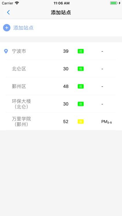 宁波空气质量 - 权威环境数据发布 screenshot-6